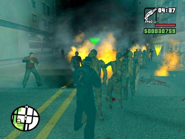 zombie gta