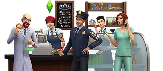 recensione the sims 4 al lavoro